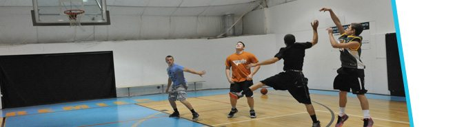 Indoor Basketball Gymnasium at Premiere Fitness Montrose, NY